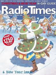 look radio times christmas covers throughout the years