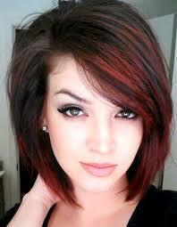 hairstyles for thin hair on head long bob hairstyles for thin hair chestnut color long bob