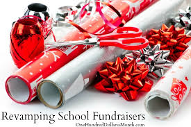 christmas wrapping paper fundraiser reving school fundraisers brilliant idea kid interests