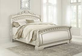 King Sleigh Bed Cassimore King Sleigh Bed Beds Furniture Deals