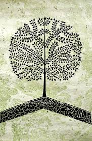 tree of life warli painting indian folk art by folkstroke on etsy