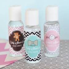 personalized baby shower favors baby shower sanitizer