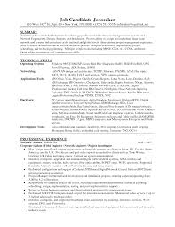 Network Administrator Resume Sample Pdf by Linux Administrator Resume Format