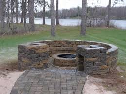 Build A Firepit Modern How To Build An Outdoor Gas Pit Regarding