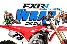 dirt bike magazine friday wrap up honda crf450r u0026 kawasaki
