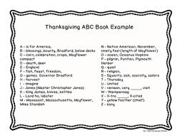 thanksgiving abc writing book by child centered tpt