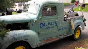 1946 dodge panel truck it started as a 1946 dodge panel truck it now sits on a ford