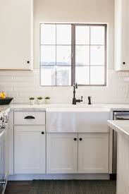 white kitchen cabinets with farm sink white shaker style cabinetry with 30 farmhouse sink by