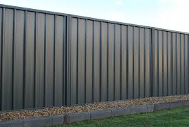 double side 1 8m smooth cream steel fencing panel tl32dsdo