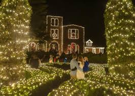 barnsley gardens christmas lights annual lighting of the ruins scheduled for nov 25 the calhoun