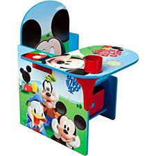 The Desk Set Play Amazon Com Disney Chair Desk With Storage Bin Mickey Mouse