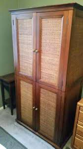 Jewelry Armoire Pier One Wicker Tv Armoire U2013 Blackcrow Us
