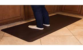 Padded Kitchen Rugs Kitchen Anti Fatigue Mats Novaform Inspirations And Padded Mat