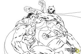 draw batman superman drawingnow