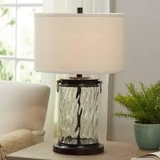 glass u0026 clear table lamps you u0027ll love wayfair