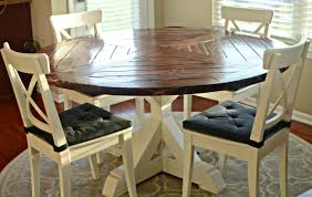 round farmhouse dining table and chairs ideas of farmhouse kitchen table sets of also rustic high top set in