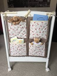 accessoire chambre bébé organiseur lit bébé pop couture