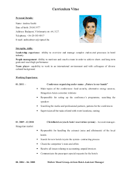 Job Resume For Hotel by Example Of Resume In English Free Resume Example And Writing