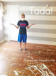 How To Install Laminate Flooring Next To Carpet How To Remove Carpet And Refinish Wood Floors Part 1 Classy Clutter
