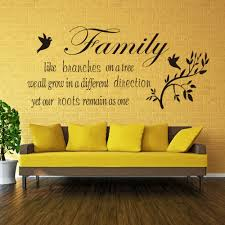 aliexpress com buy family like branches on a tree vinyl wall aliexpress com buy family like branches on a tree vinyl wall quotes stickers wall decals letters flower decals home decor living room wall decor from