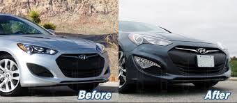hyundai genesis coupe parts genuine parts led drl fog light l cover set for hyundai 13 2017