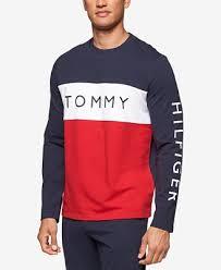 hilfiger sweater mens hilfiger s modern essentials cotton terry logo