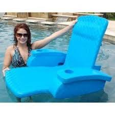Floating Pool Lounge Chairs Foam Pool Lounge Foter