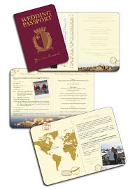 wedding invitations malta our malta passport invitation