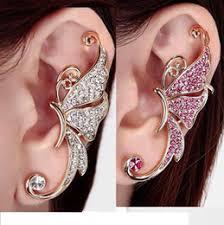 cuff piercing discount ear piercing diamond cuff 2017 ear piercing diamond