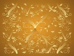 Home Design Gold Free Gold Flower Wallpaper Wallpapersafari