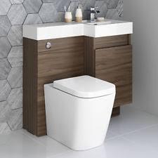 Combination Vanity Units For Bathrooms by Toilet Bidet Combination Ebay