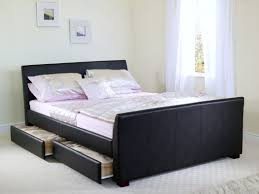 diy bedroom storage purple two drawers night stand platform