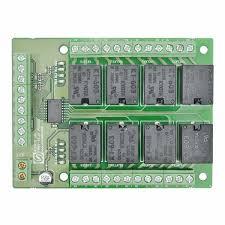 8 channel ttl compatible relay controller board numato lab