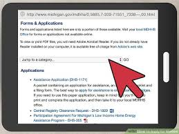 3 ways to apply for welfare wikihow