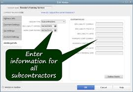 Hole In One Certificate Template Monitor Subcontractor Insurance Certificates In Quickbooks