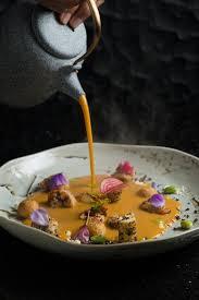 aya cuisine peruvian prawn chupe aya