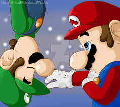 commission mario luigi marios friend9 deviantart
