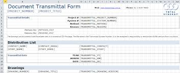 Windows Excel Templates Transmittal Ms Excel Template
