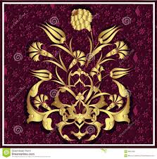 Ottoman Design Antique Ottoman Gold Design Stock Vector Illustration Of Design