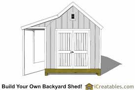 10x16 cape cod shed plans with porch