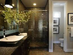Small Bathroom Makeovers Natural Look Is Popular Trend In Bathroom Makeovers