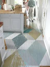 painting a floor painted floor ideas incredible decoration painting hardwood floors