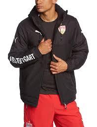 puma bench men u0027s jacket with vfb stuttgart logo amazon co uk