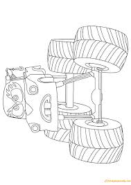 mater monster truck coloring page free coloring pages online