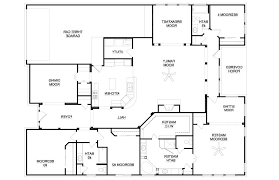 country house plans one story baby nursery 4 bedroom single story house plans one story