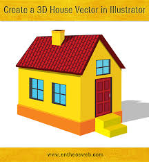 create a building learn how to create a 3d house vector in illustrator entheos