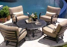patio used patio furniture suitable used brown jordan patio