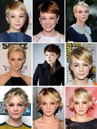 transition hairstyles for growing out short hair how to grow out a pixie cut carey mulligan growing out the pixie