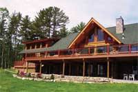 Home And Design Logo Eastern Adirondack Home And Design The Bolton Log Home