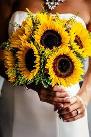 sunflower wedding bouquet sunflower bridal bouquet wedding sunflower wedding bouquets to